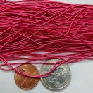 FUCHSIA MATT - 150 Inches French Metal Wire Gimp Coil Bullion Purl - Smooth Regular - 3.80 Meters