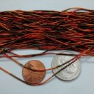 MULTI COLOR MATT - 150 Inches French Metal Wire Gimp Coil Bullion Purl - Smooth Regular - 3.80 Meters