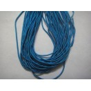 PEACOCK BLUE MATT - 150 Inches French Metal Wire Gimp Coil Bullion Purl - Smooth Regular - 3.80 Meters