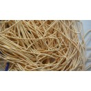 MEDIUM GOLD MATT - 150 Inches French Metal Wire Gimp Coil Bullion Purl - Smooth Regular - 3.80 Meters