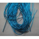 TURQUOISE - 150 Inches French Metal Wire Gimp Coil Bullion Purl - Smooth Regular - 3.80 Meters