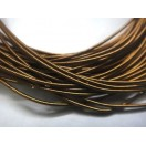 ANTIQUE COPPER - 120 Inches French Metal Wire Gimp Coil Bullion Purl - Stiff - 3 Meters