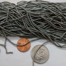 GRAY - 120 Inches French Metal Wire Gimp Coil Bullion Purl - Thick Smooth Regular - 3 Meters