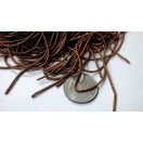 ANTIQUE GOLD - 120 Inches French Metal Wire Gimp Coil Bullion Purl - Thick Smooth Regular - 3 Meters