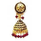 Golden Oxidized Earrings Jhumka Jhumki Jewelry Bollywood Drop Dangle Long E19